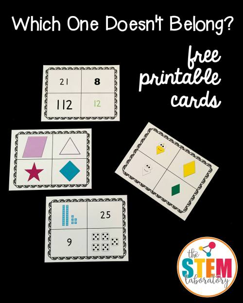 small resolution of Which One Doesn't Belong? Cards - The Stem Laboratory