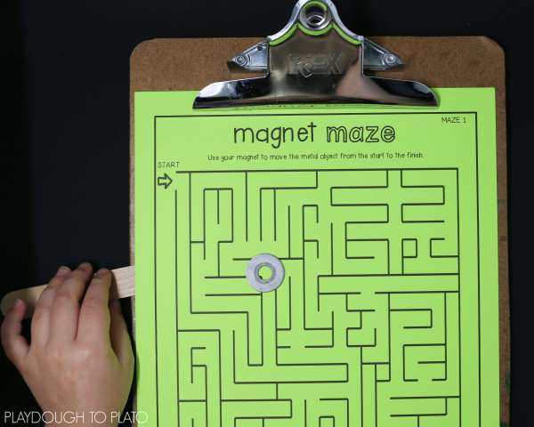 Force and Motion Science Maze