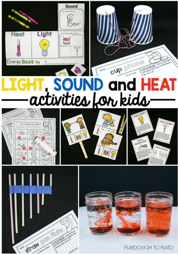 Light Sound And Heat! The Stem Laboratory