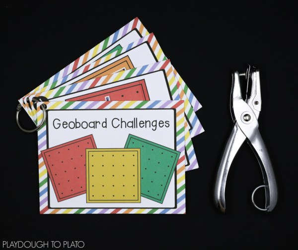 Stem Challenge Geoboards - Laboratory