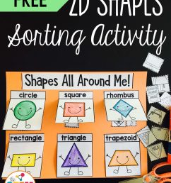 2D Shapes Sorting Activity - The Stem Laboratory [ 2560 x 1920 Pixel ]