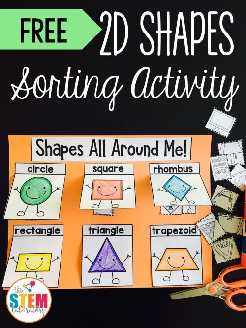 small resolution of 2D Shapes Sorting Activity - The Stem Laboratory