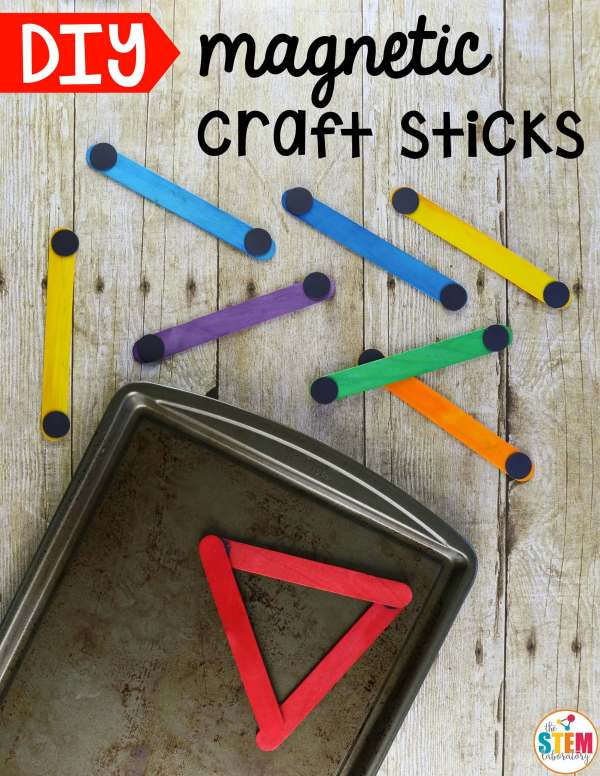 Diy Magnetic Craft Sticks - Stem Laboratory