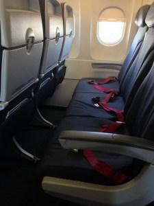 Les Sièges d'Air Canada Rouge