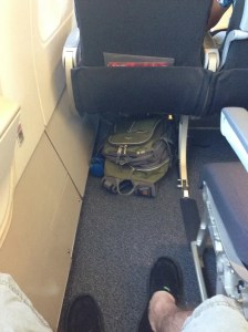 Legroom in Seat 18A