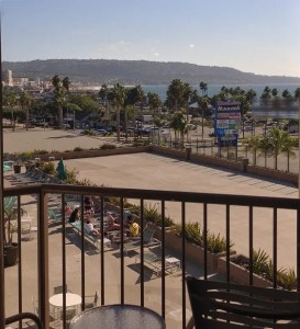 View  of Redondo Beach Pier from Balcony