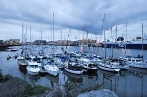 Reflections at Dublin Harbor
