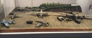 Display of Military Planes