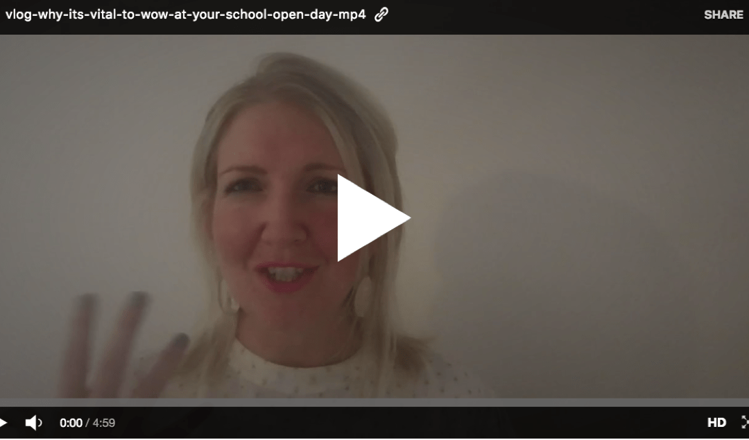 VIDEO: our Founder's recent Open Day experience at two schools (one great, the other mediocre!)