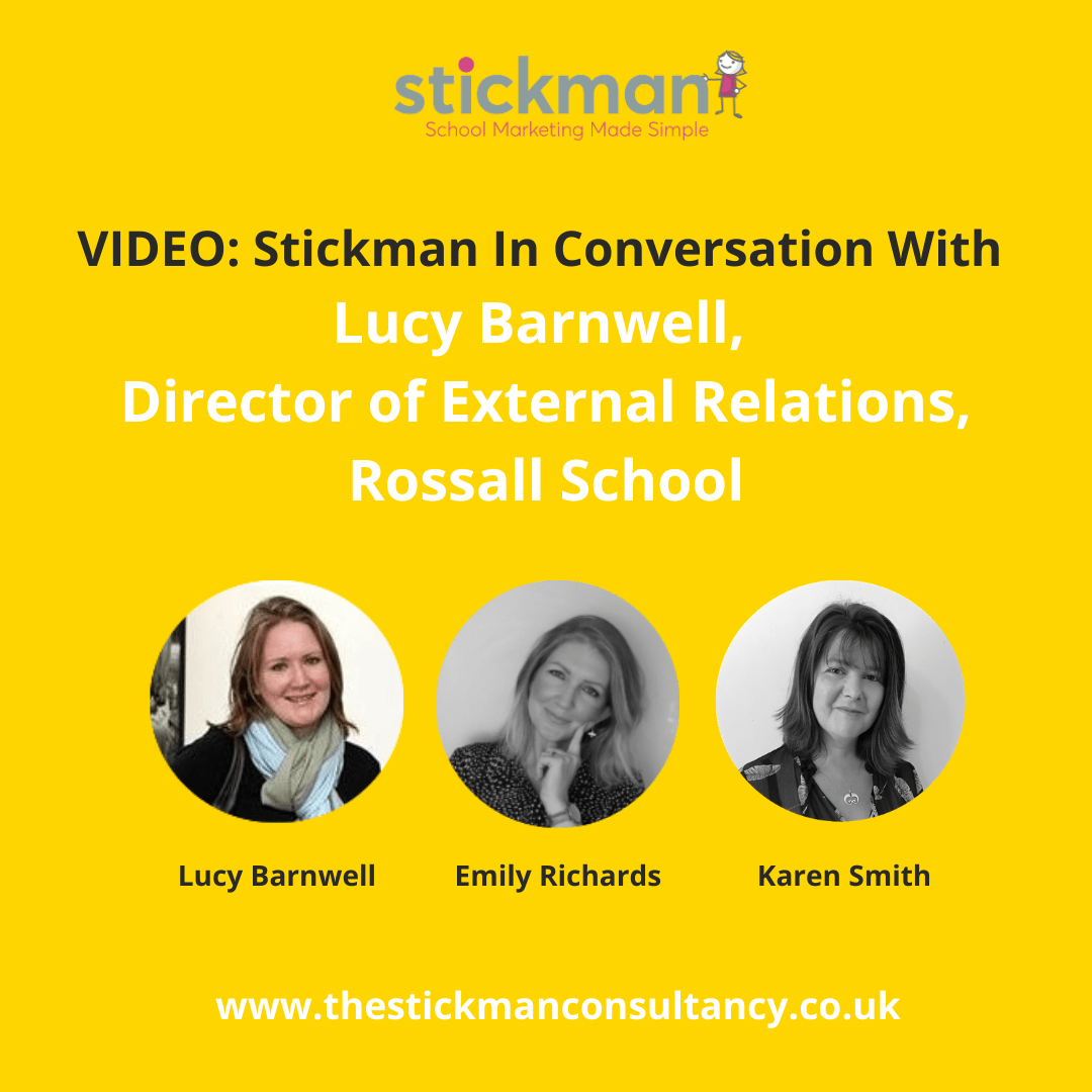 VIDEO: Stickman Chats to Lucy Barnwell about her Role as 'Head of Keeping People Happy' at Rossall School