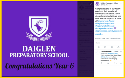 See How Daiglen Prep Power Up Their Key Messages