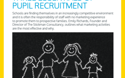 The 3 Essentials of Pupil Recruitment for Primary Schools