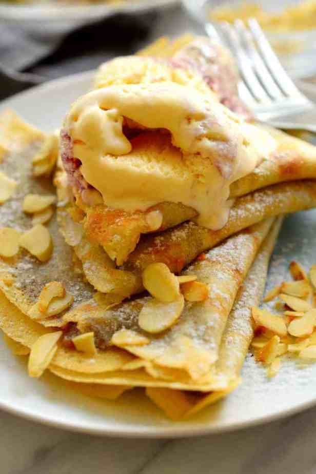 Vegan crepes are easy to make, can be made with a sweet or savoury filling, and taste just like the non-vegan version. This versatile recipe is one you'll want to make again and again!