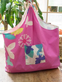 reversible shopping bags that fold up