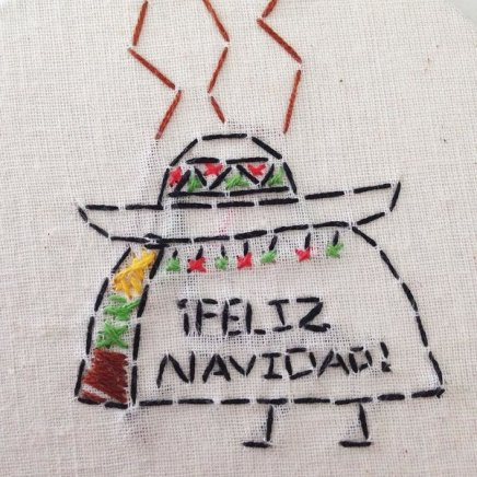 Feliz Navidad! taco ornament