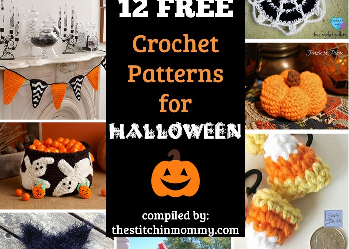 12 Free Halloween-Themed Crochet Patterns