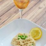 Summer with CK Mondavi – Lemon and Pea Risotto Recipe