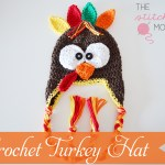 Crochet Turkey Hat – More Sizes Now Available!