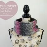Kiss Me At Midnight Quick Cowl – Free Pattern