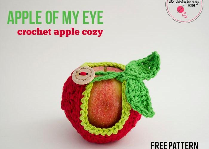 Apple of My Eye Apple Cozy – Free Pattern