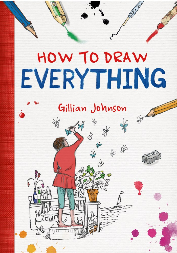 How to Draw Everything by Gillian Johnson - Book Review   www.thestitchinmommy.com
