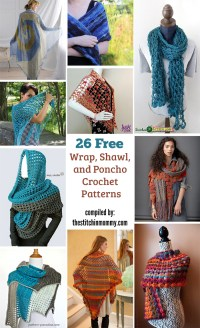26 Free Wrap, Shawl, and Poncho Crochet Patterns - The ...