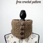 Barley Button Cowl – Free Crochet Pattern