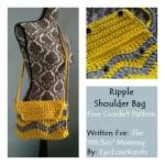 Ripple Shoulder Bag – Free Crochet Pattern
