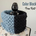 Color Block Cowl – Free Knit Pattern