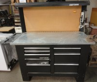 8 Foot Craftsman Workbench  $200 | The Stock Pile