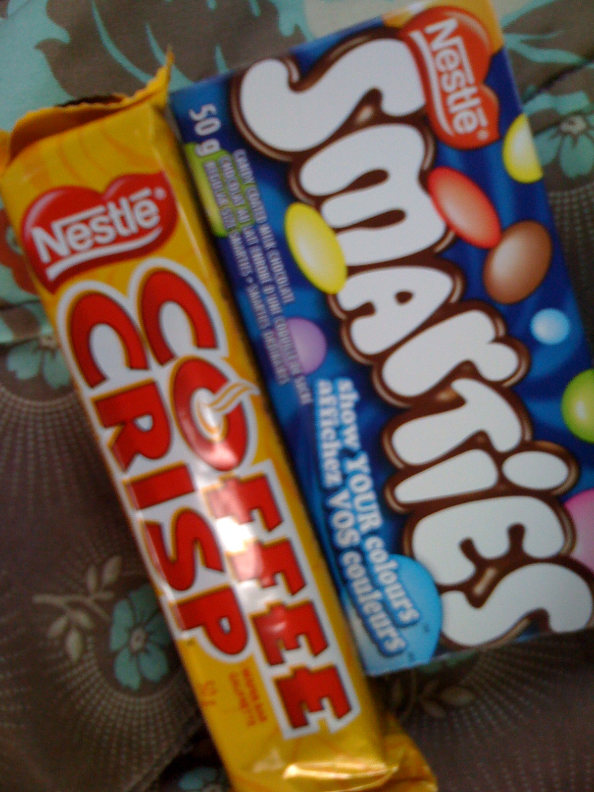 Nestle's yummy candy from Canada