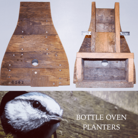 Bottleoven Birdbox & Planter Collage