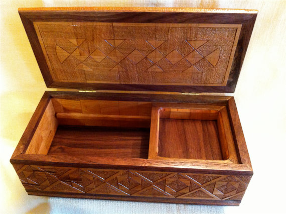Black Walnut Stash Box