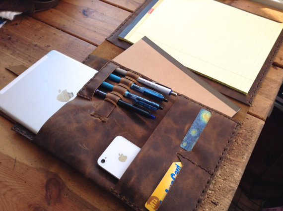 Leather iPad/Portfolio Case