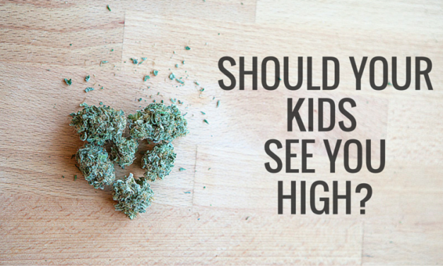 Ask The Stoner Mom: Should your kids see you high?