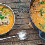 Addictive Thai Mushroom Soup