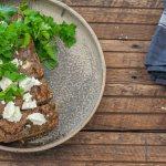 Easy Mushroom Loaf