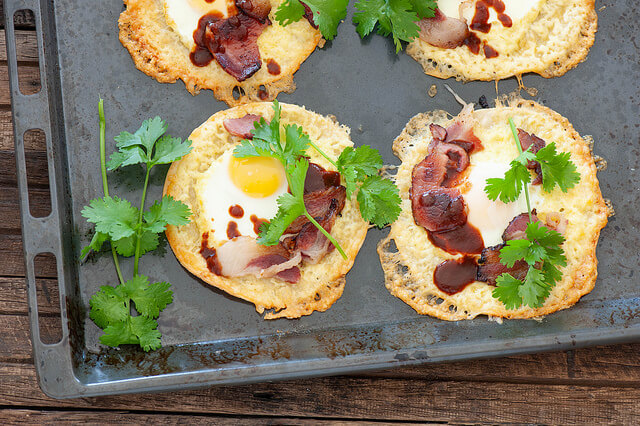 Egg & Bacon Tacos