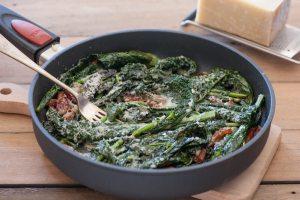 kale parmesan bacon