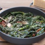 kale parmesan bacon