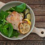 Lemon Basil Roast Chicken