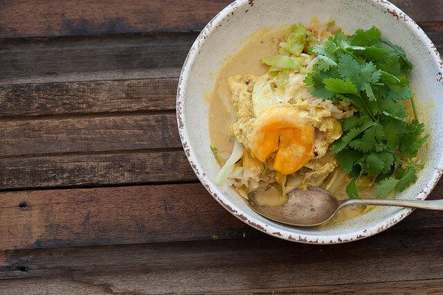 Malaysian Golden Egg Curry