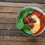 Moroccan Egg & Olive Tajine