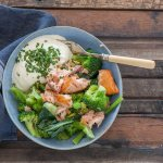 Smoked Trout & Broccoli Bowls