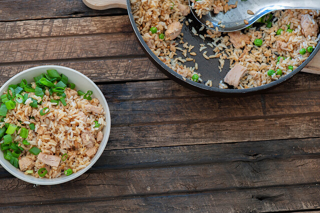 Tuna Fried Rice (Tuna and Rice)