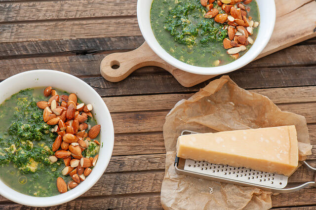 Tuscan Greens Soup