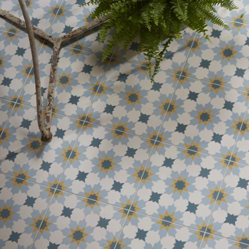 Tangier Encaustic Tiles