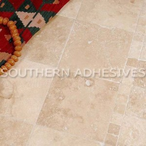 Lydia Antique Tumbled Travertine Mosaic
