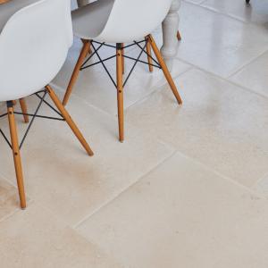 Bergamo Distressed Limestone Birds Eye View