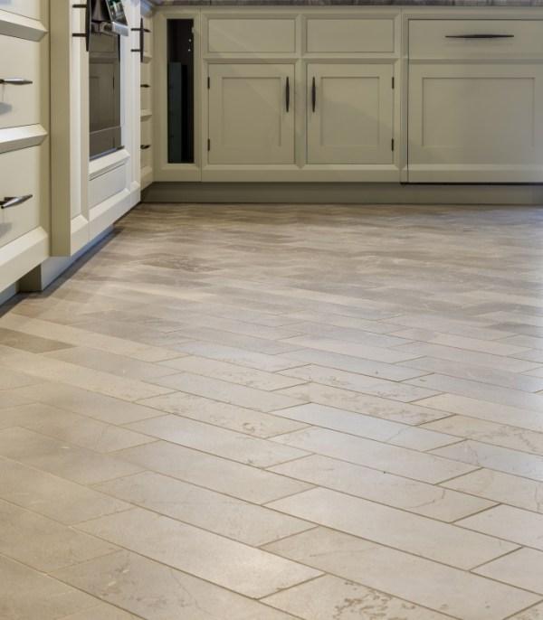 Lucca Limestone Brick Velvet Finish Contemporary Kitchen Tiles